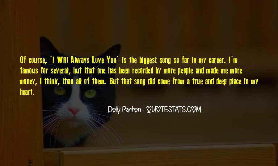 My True Love Sayings #297819