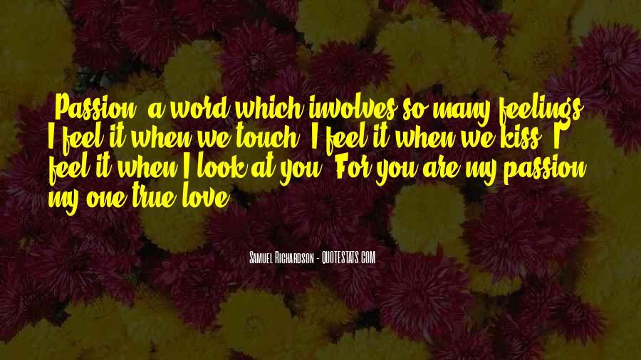 My True Love Sayings #313857