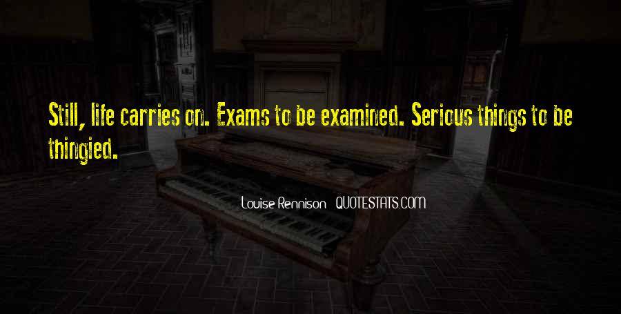 Quotes About Exams #1095431