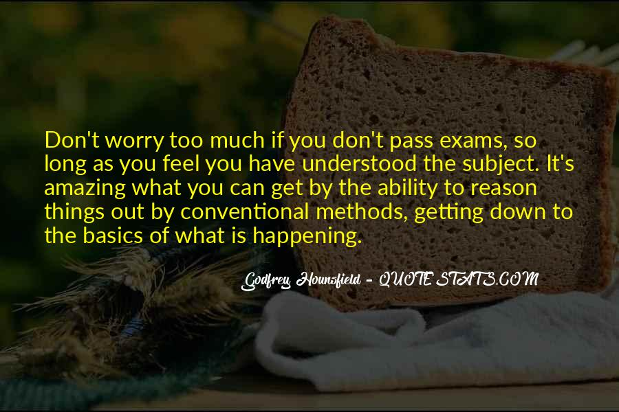 Quotes About Exams #1202081