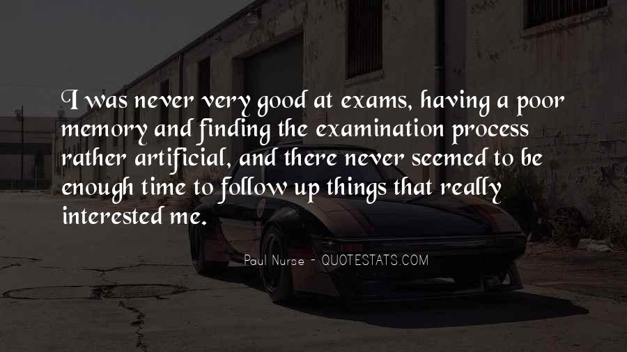 Quotes About Exams #1462540