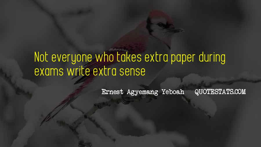 Quotes About Exams #1606645