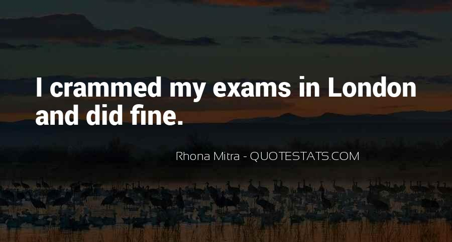 Quotes About Exams #1651210