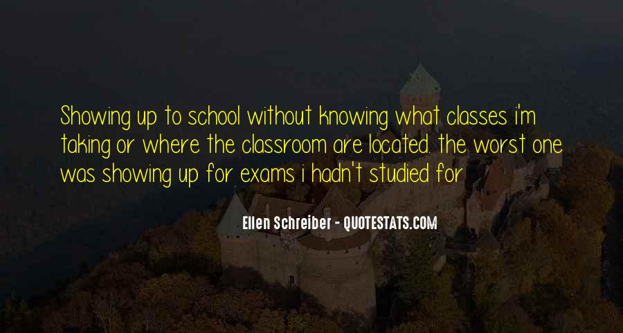 Quotes About Exams #244145