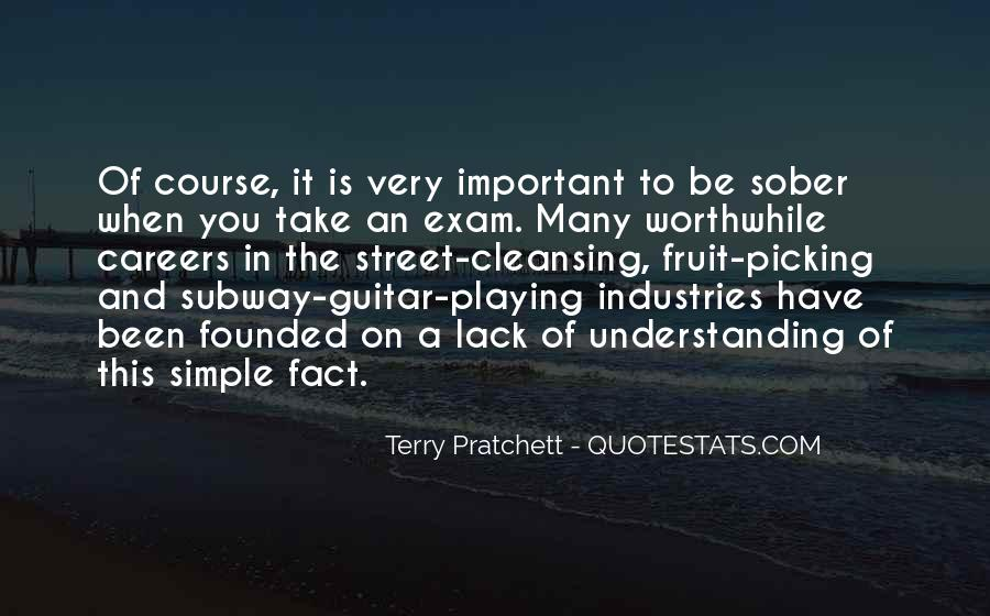 Quotes About Exams #305532