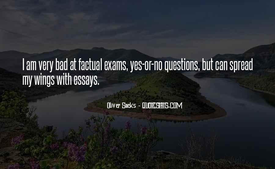 Quotes About Exams #535348