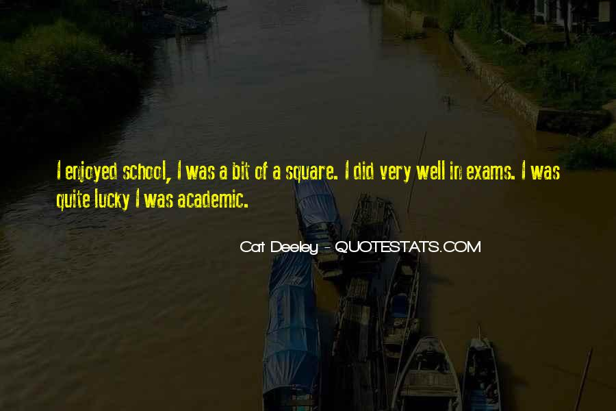 Quotes About Exams #748437