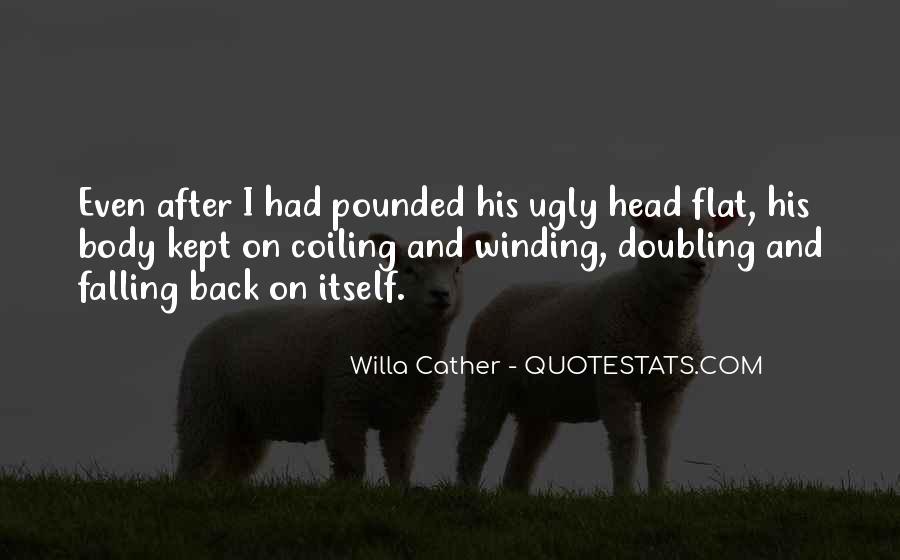 Ugly Head Sayings #1535041