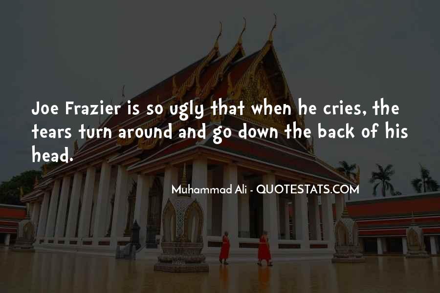 Ugly Head Sayings #1803273
