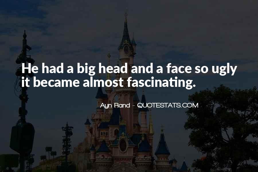 Ugly Head Sayings #283319