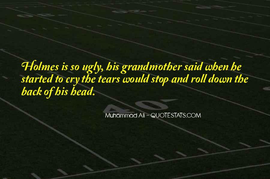 Ugly Head Sayings #37892