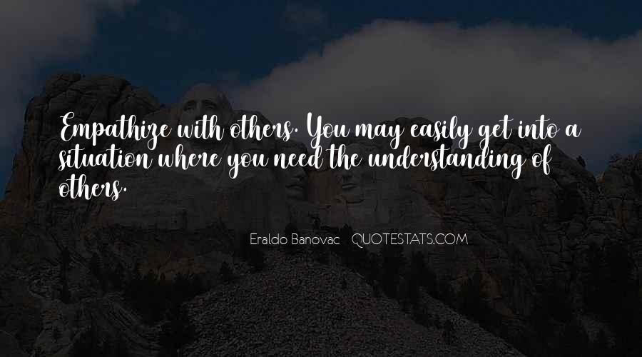 Understanding Life Quotes Sayings #1069599