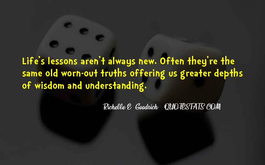 Understanding Life Quotes Sayings #395342