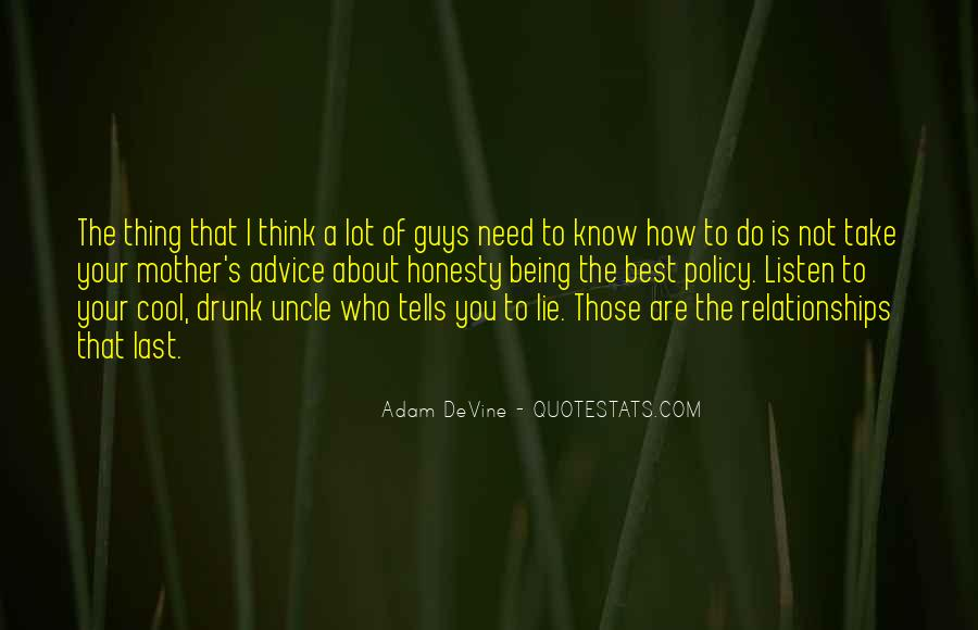 Drunk Uncle Sayings #1504763