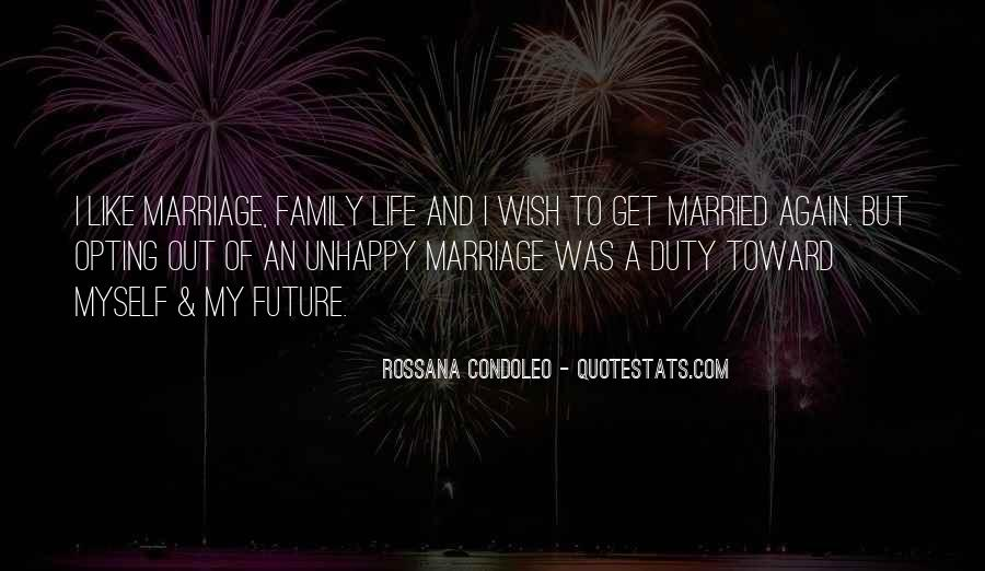 Unhappy Family Quotes Sayings #1681059