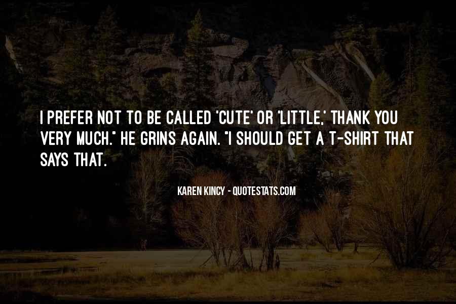 Cute Thank You Sayings #1757416