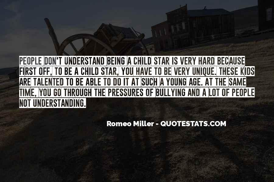 Quotes About The Unique Child #1485160