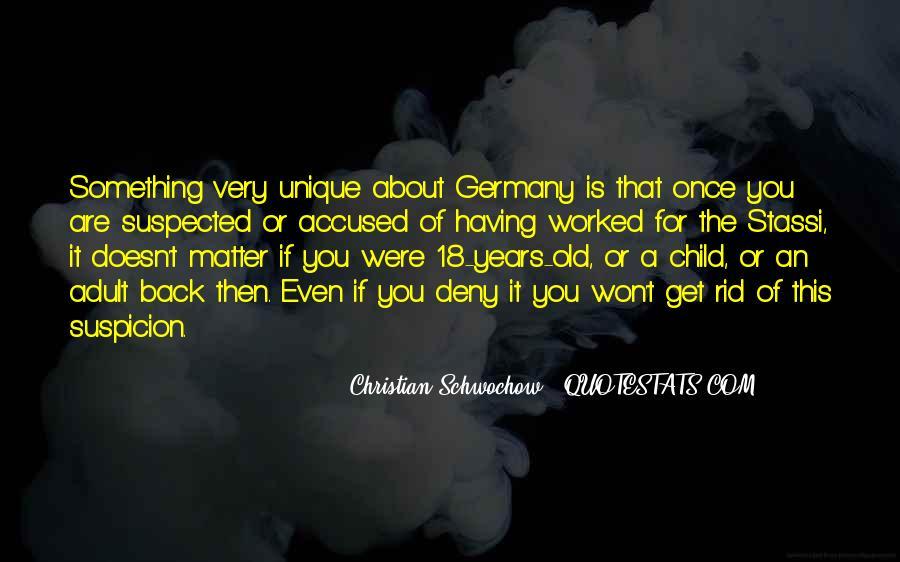 Quotes About The Unique Child #1721489