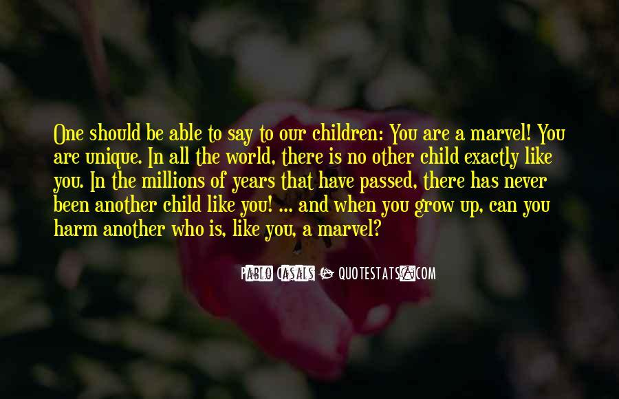 Quotes About The Unique Child #670033