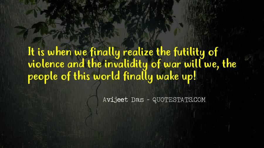 Wake Quotes Sayings #1079181