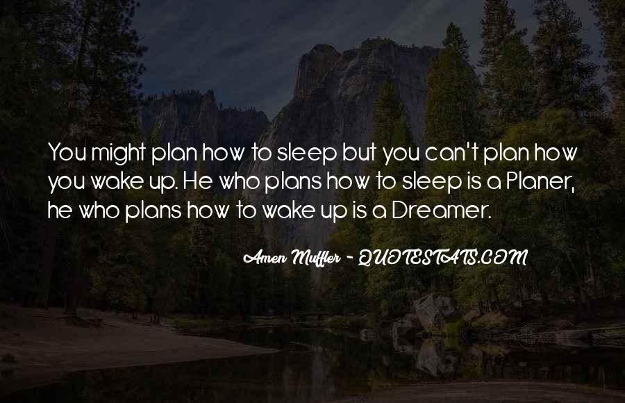 Wake Quotes Sayings #108384