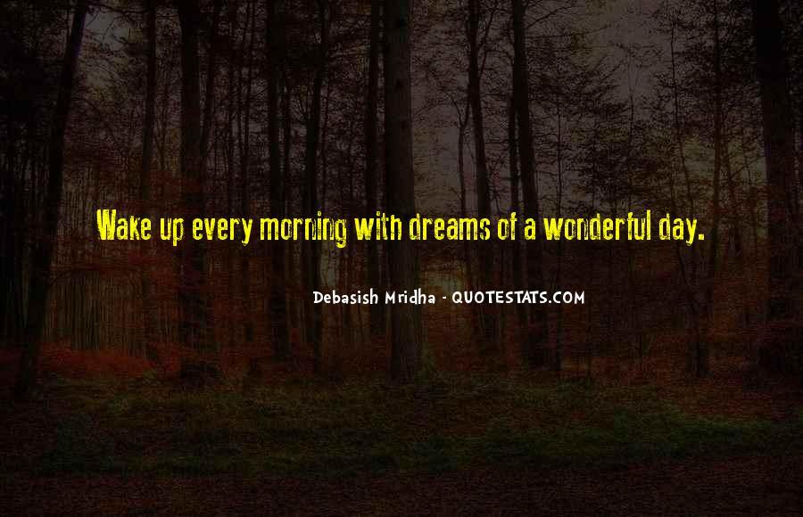 Wake Quotes Sayings #1290215