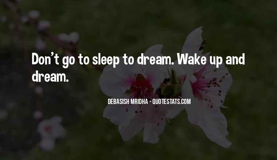 Wake Quotes Sayings #1767974