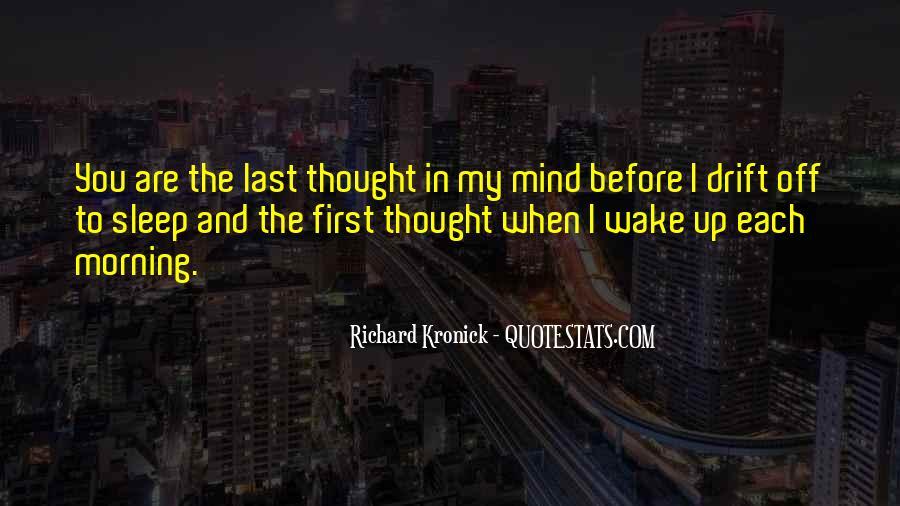 Wake Quotes Sayings #28135