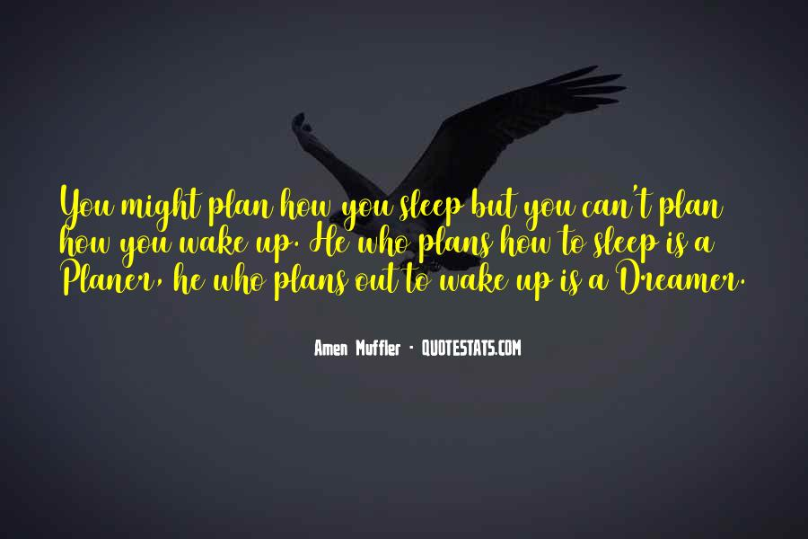 Wake Quotes Sayings #317539