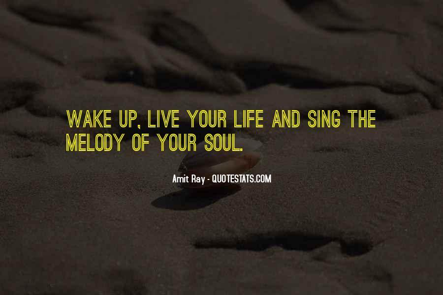 Wake Quotes Sayings #485145