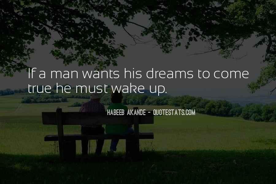 Wake Quotes Sayings #528930