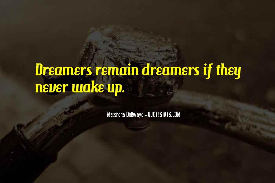 Wake Quotes Sayings #565395
