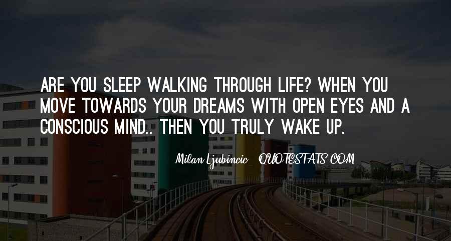 Wake Quotes Sayings #586078