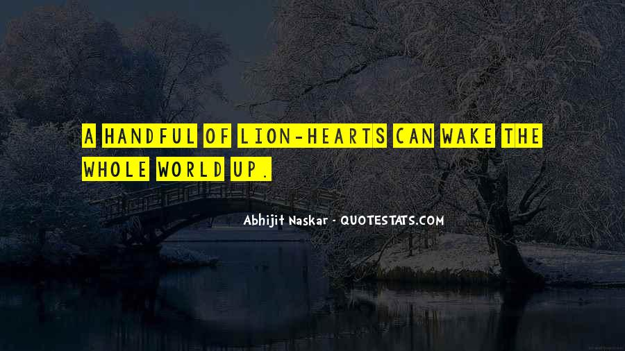 Wake Quotes Sayings #623573