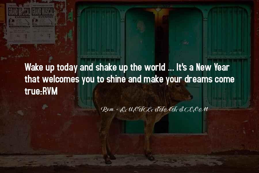 Wake Quotes Sayings #801788