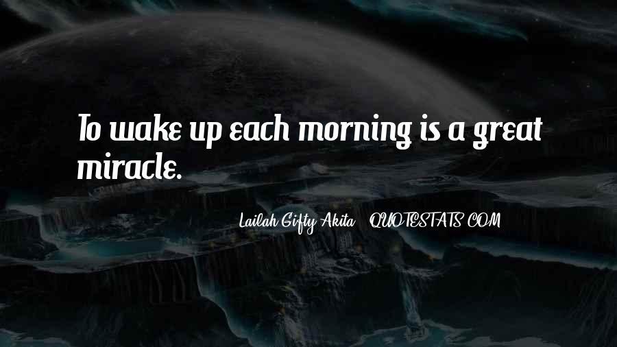 Wake Quotes Sayings #820712