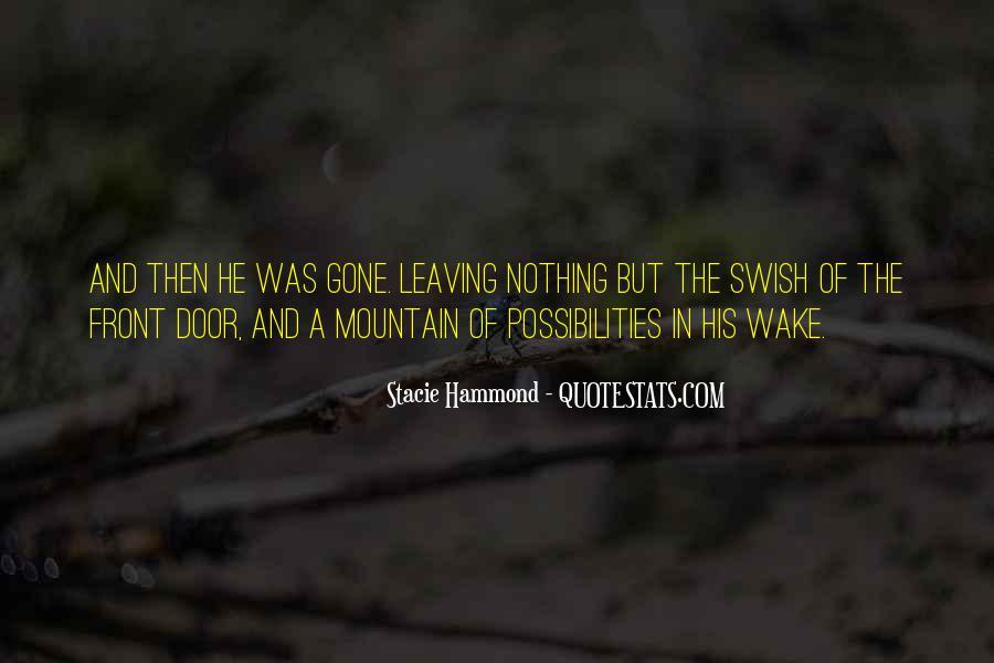Wake Quotes Sayings #918713