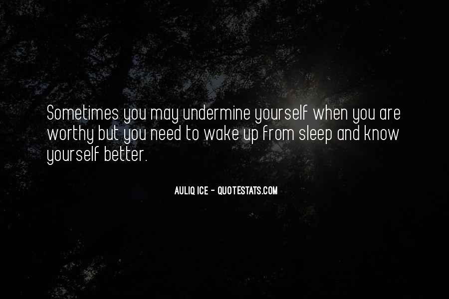 Wake Quotes Sayings #996322
