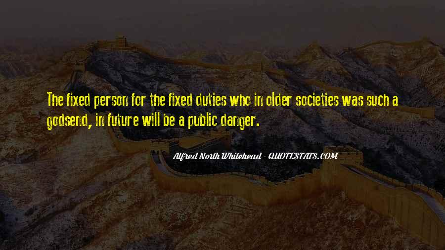 Alfred North Whitehead Sayings #111573