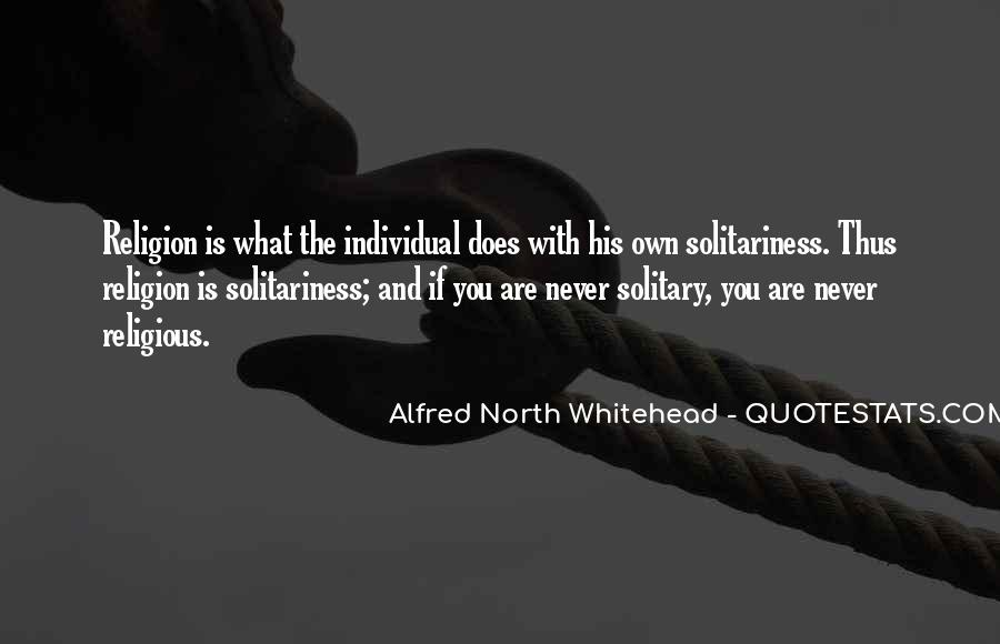 Alfred North Whitehead Sayings #12974