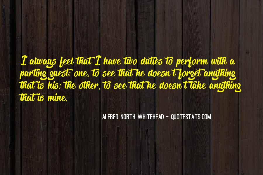 Alfred North Whitehead Sayings #143003