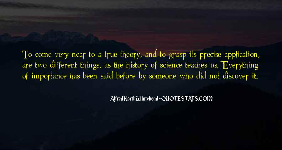Alfred North Whitehead Sayings #193953