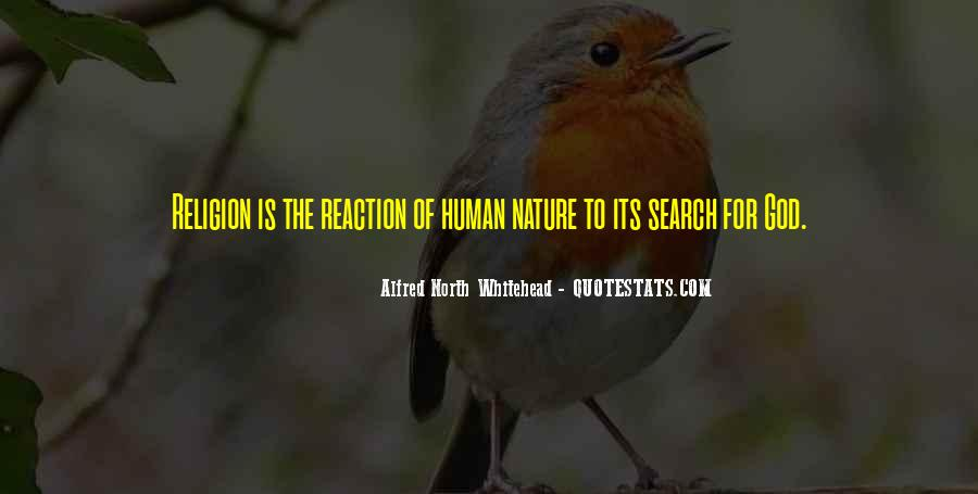Alfred North Whitehead Sayings #212385