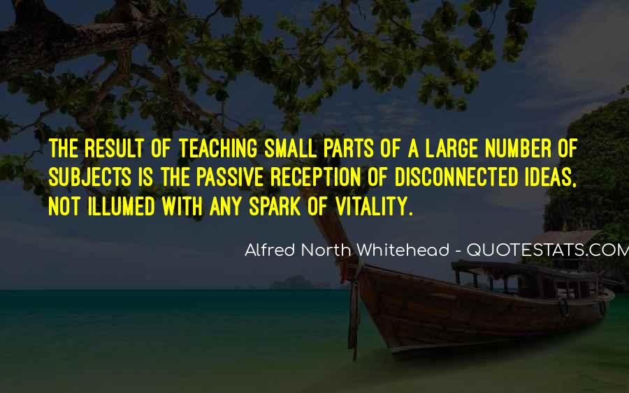Alfred North Whitehead Sayings #238233
