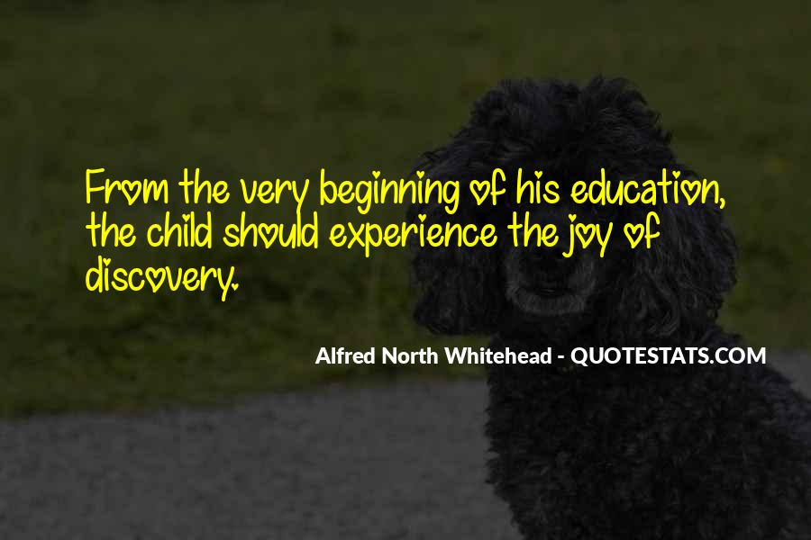 Alfred North Whitehead Sayings #246281