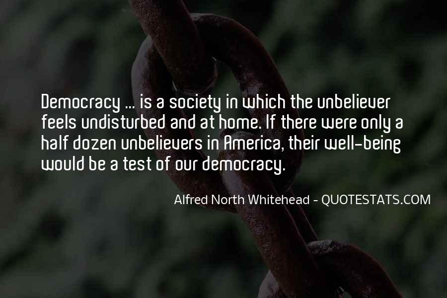 Alfred North Whitehead Sayings #269024