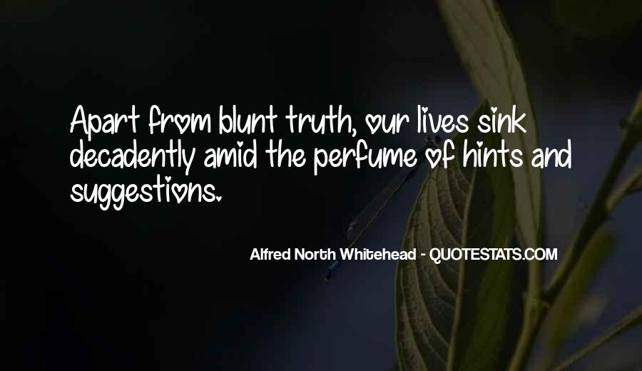 Alfred North Whitehead Sayings #274976