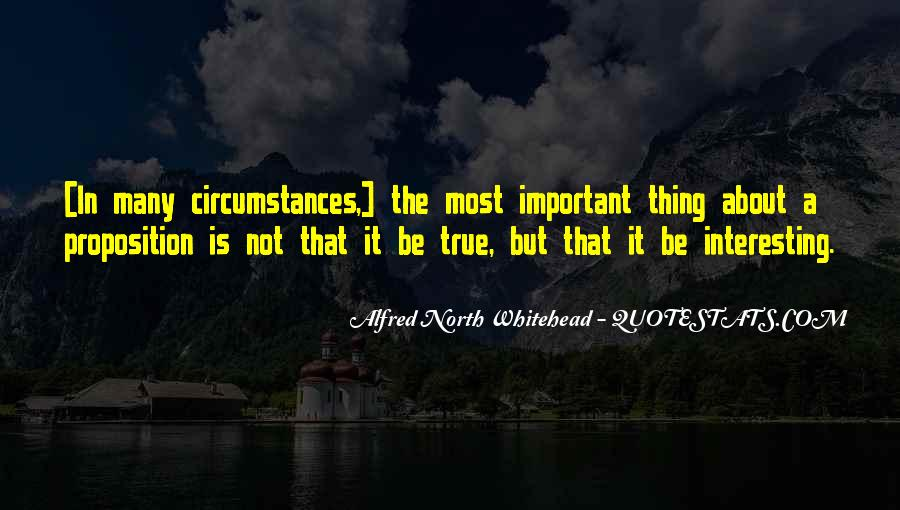 Alfred North Whitehead Sayings #28493