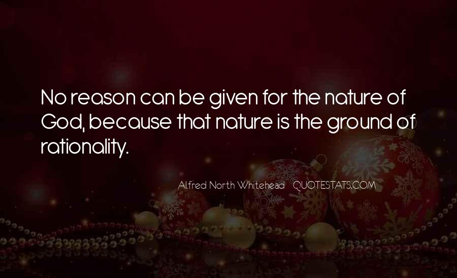 Alfred North Whitehead Sayings #290188
