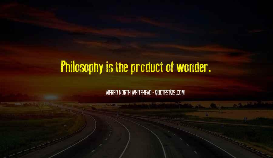 Alfred North Whitehead Sayings #310461